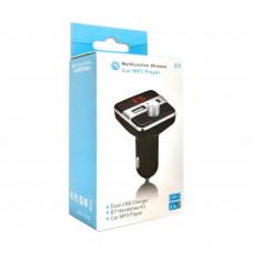 Автомобильный FM-трансмиттер X9 Wireless 2USB