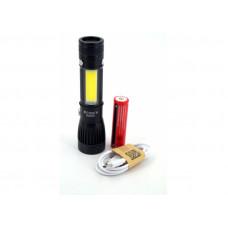 Тактический LED Светодиодный фонарь USB HL-W545