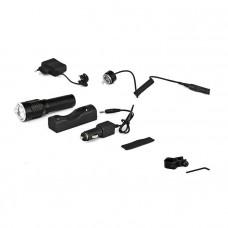 Подствольный тактический фонарь LED c аккумулятором P-Q911
