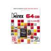 Карта памяти microSD Mirex 64Gb