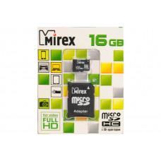 Карта памяти microSD Mirex 16Gb