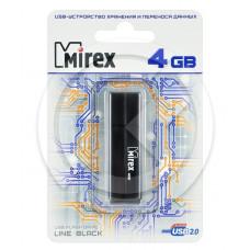 USB Flash MIREX LINE BLACK 4GB