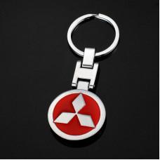 Брелок с логотипом авто Mitsubishi