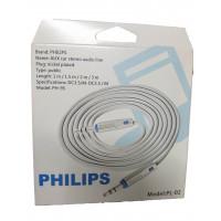 Аудио кабель AUX PHILIPS 1 метр в коробке