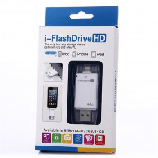 USB iFlash Drive U Disk 8 pin Memory Stick Adapter For iPhone 5 5S 6 plus 7 plus 32GB