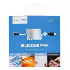 Кабель Silicone HOCO X21 IPhone 1 метр