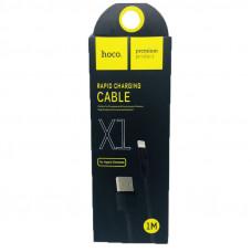 Кабель HOCO X1 iPhone 1 метр black