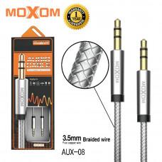 Аудио кабель Moxon AUX-08 1 метр в коробке