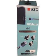 Магнитный кабель SZX M-7 MicroUSB