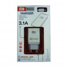 Сетевое зарядное устройство Xiaomi A-80 3.1A Type-C