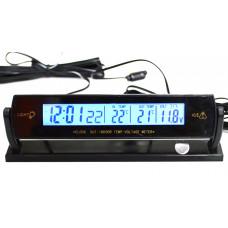 Автомобильные Часы-термометр VST 7013V