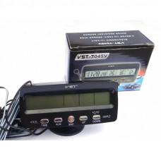 Автомобильные Часы-термометр VST 7045V