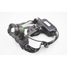 Налобный светодиодный фонарь K-12-T6