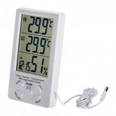 Электронный термометр-гигрометр TA298 с выносным датчиком