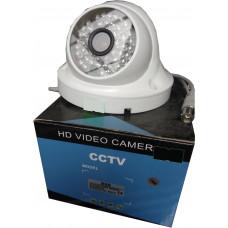 Аналоговая купольная камера видеонаблюдения 538