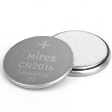 Литиевая батарейка Mirex CR2016