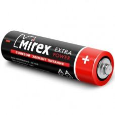 Батарейка AA солевая Mirex R6