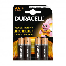 Алкалиновая батарейка AA DURACELL