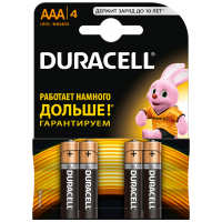 Алкалиновая батарейка AAA DURACELL