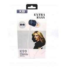 Внутриканальные наушники Kin K99