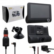 Видеорегистратор XPX P10 с 3-мя камерами