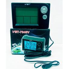 Автомобильные Часы-термометр VST 7048V