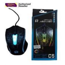 Мышь проводная игровая C5