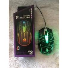Мышь проводная игровая T2